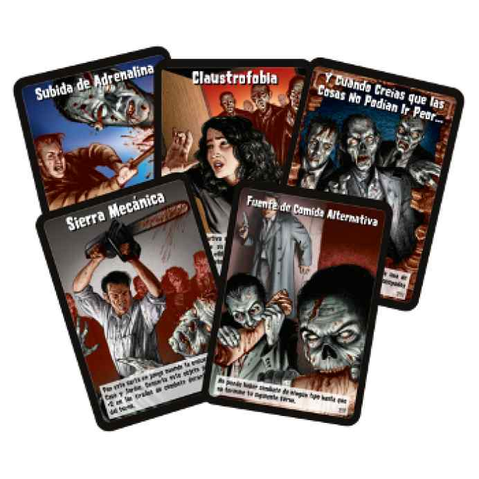 Zombies!!! 3Ed Cartas