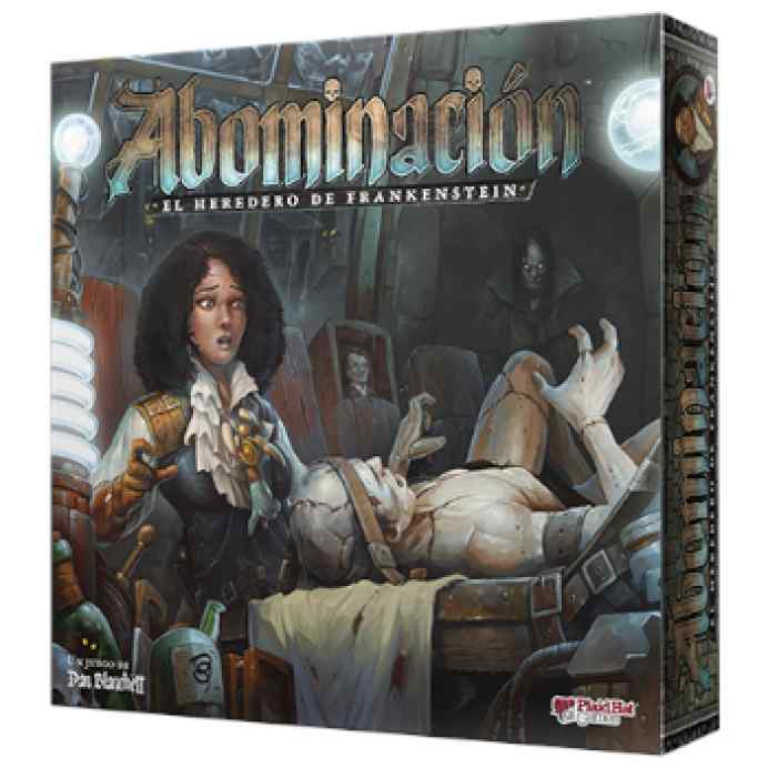 Abominación: El heredero de Frankenstein TABLERUM