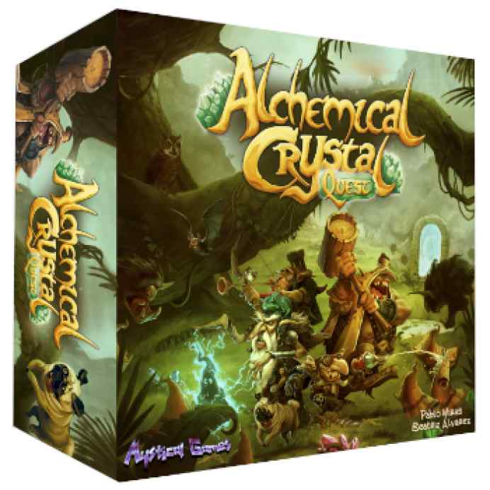 Alchemical Crystal Quest TABLERUM