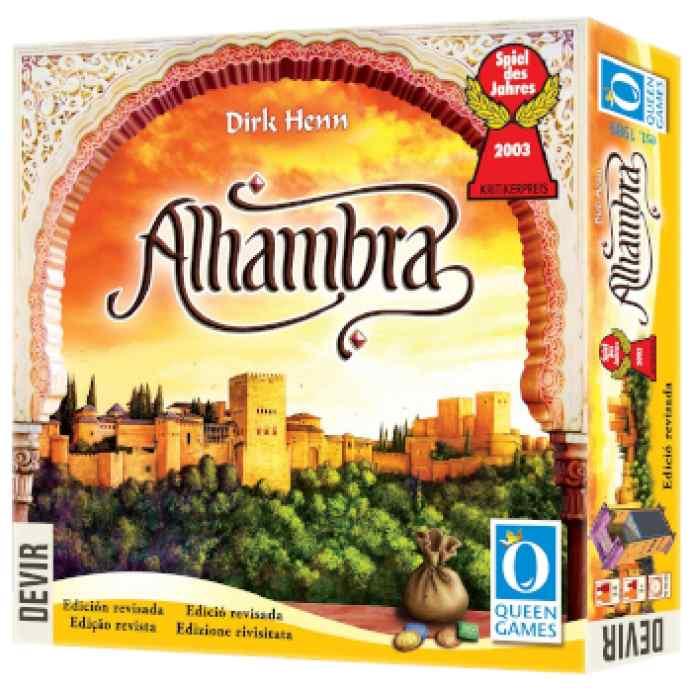 Alhambra (Edición Revisada 2020) TABLERUM