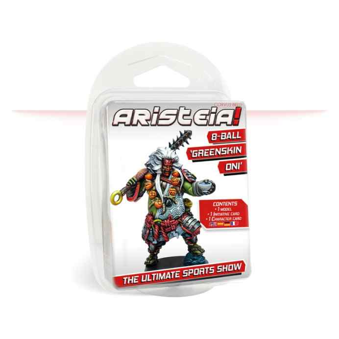 Aristeia!:  8-Ball, Greenskin Oni TABLERUM