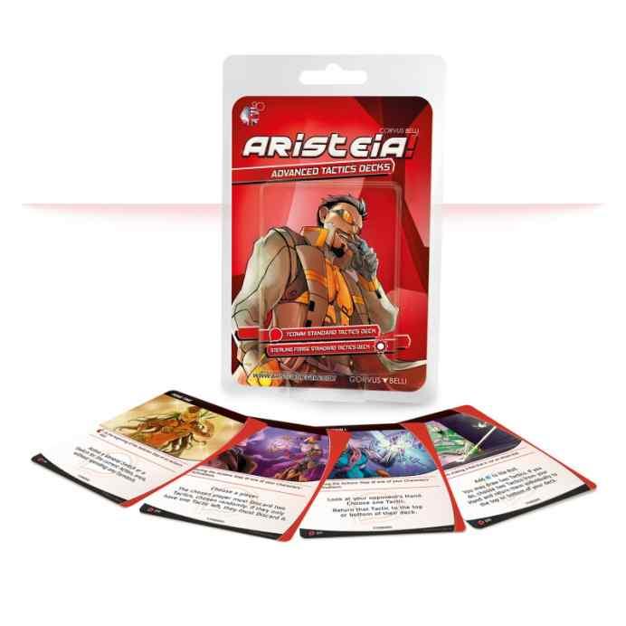 Aristeia!: Advanced Tactics Decks Corvus Belli TABLERUM