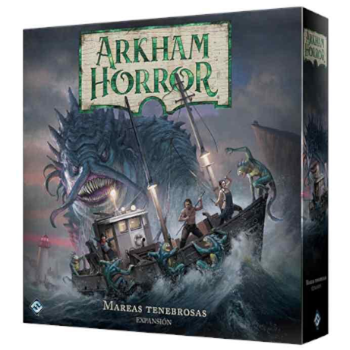 Arkham Horror 3ª Edición: Mareas Tenebrosas TABLERUM