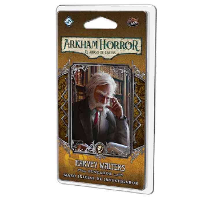 Arkham Horror (LCG): Harvey Walters Mazo de investigador TABLERUM