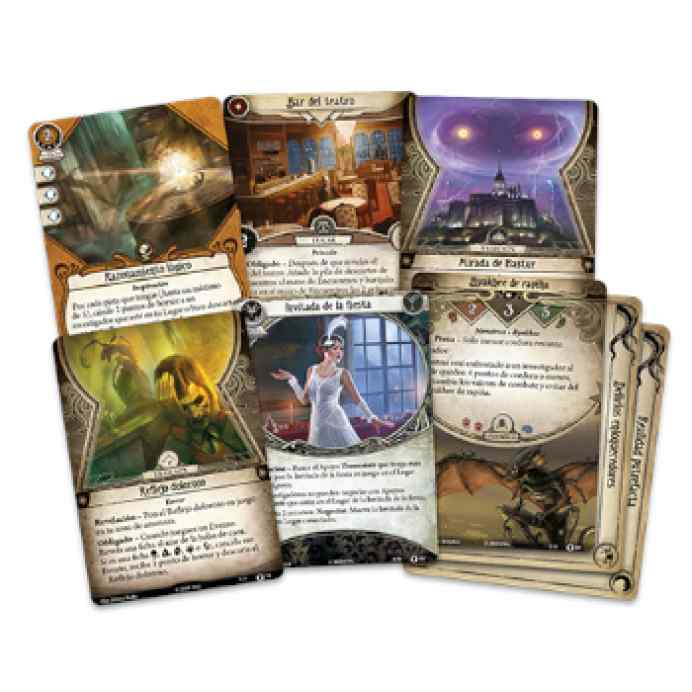 Arkham Horror (LCG): Regreso a El Camino a Carcosa TABLERUM