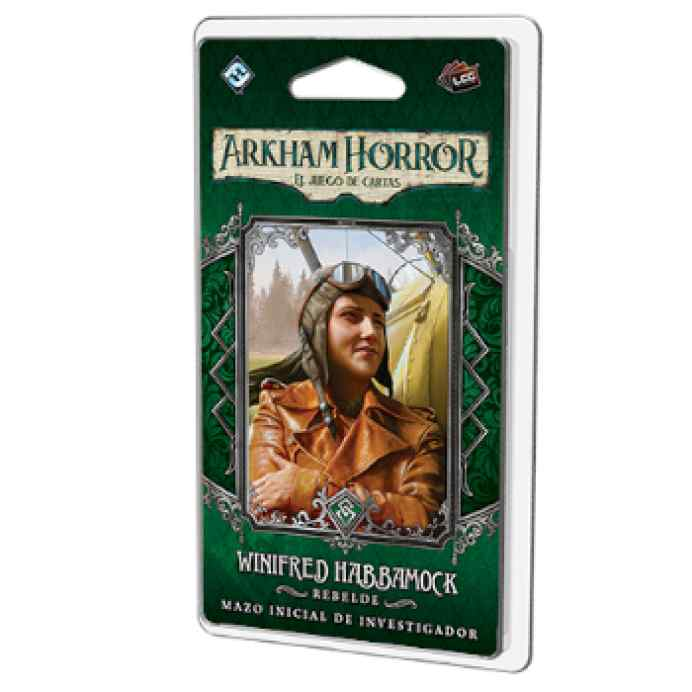 Arkham Horror (LCG): Winifred Habbamock Mazo de investigador TABLERUM