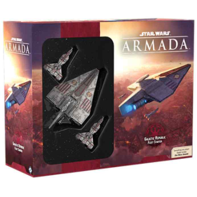 Star Wars Armada: Galactic Republic Fleet Starter EN TABELRUM