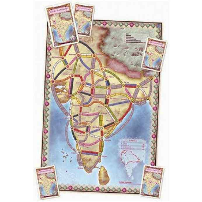 mapa de aventureros al tren india