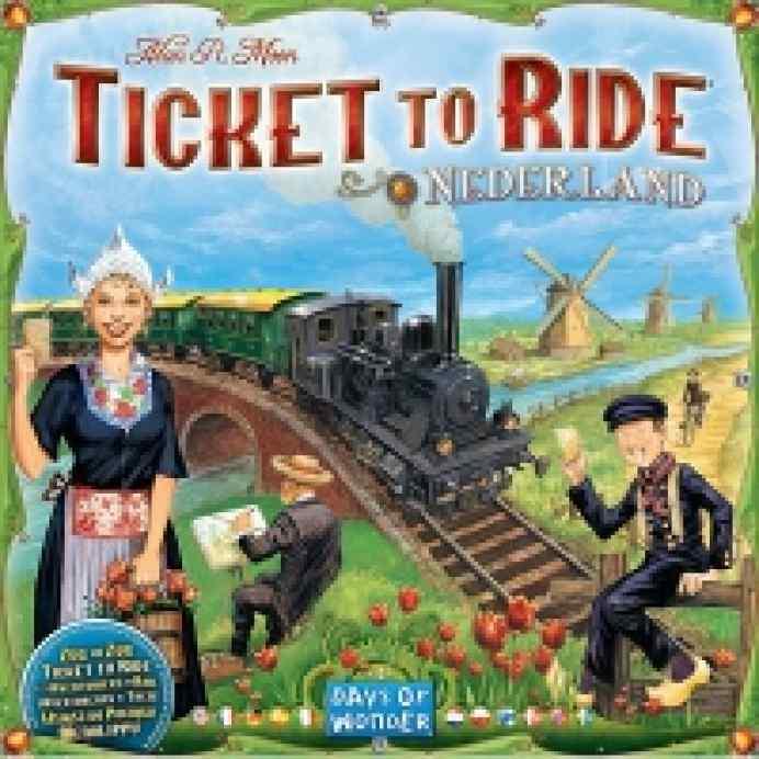 Aventureros al tren! Países Bajos