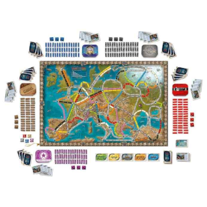 Aventureros al Tren: Europa 15 Aniversario TABLERUM