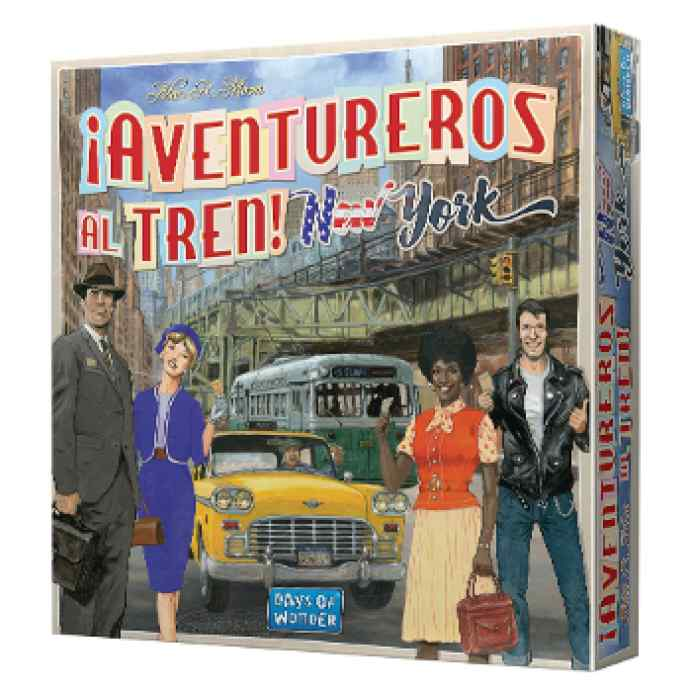 Aventureros al Tren! : New York TABLERUM