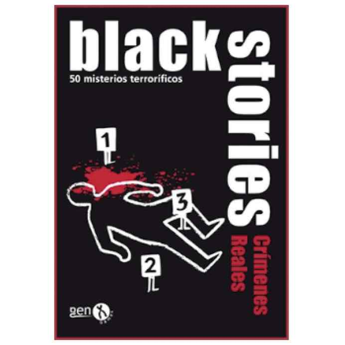 Black Stories Crímenes Reales TABLERUM