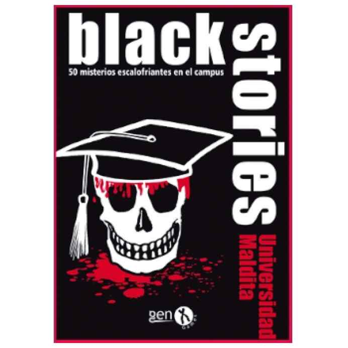 Black Stories Universidad Maldita TABLERUM