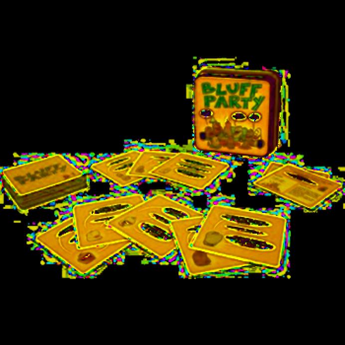 cartas del juego bluf party