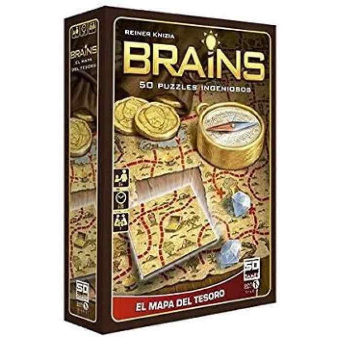 brains mapa del tesoro juego de mesa