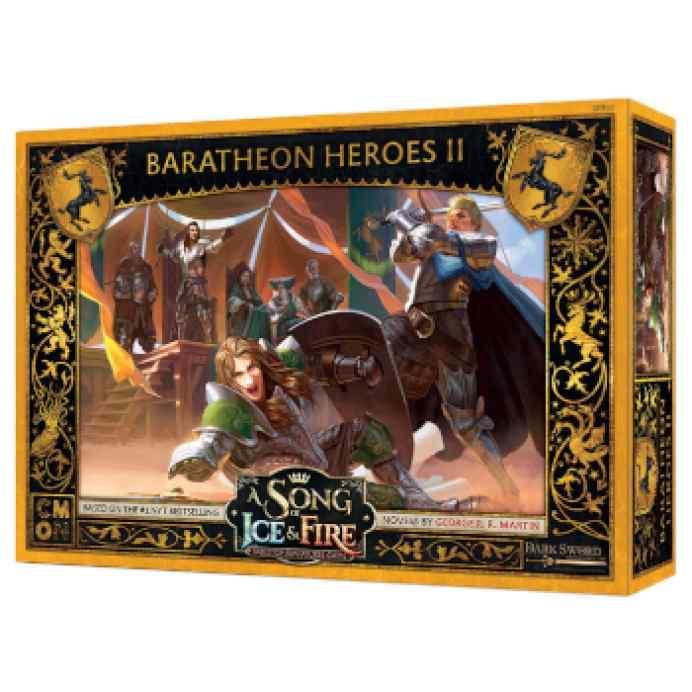 Canción de Hielo y Fuego: El Juego de Miniaturas: Héroes Baratheon II TABLERUM