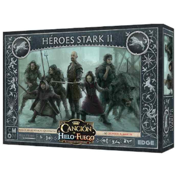 Canción de Hielo y Fuego: El Juego de Miniaturas: Héroes Stark 2 TABLERUM