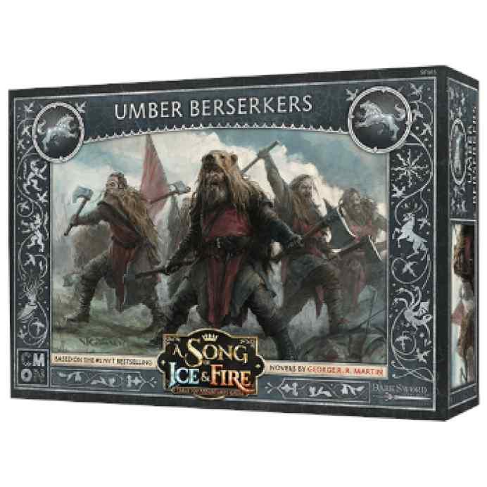 Canción de Hielo y Fuego: El Juego de Miniaturas: Berserkers Umber TABLERUM