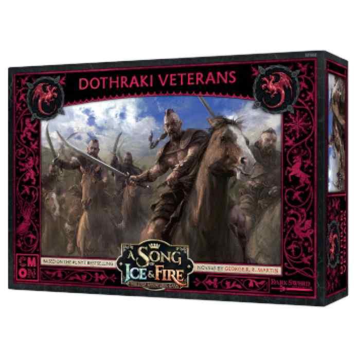 Canción de Hielo y Fuego: El Juego de Miniaturas: Veteranos Dothraki TABLERUM