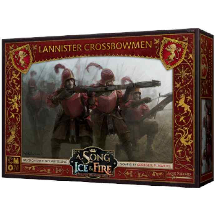 Canción de Hielo y Fuego: El Juego de Miniaturas: Ballesteros Lannister TABLERUM