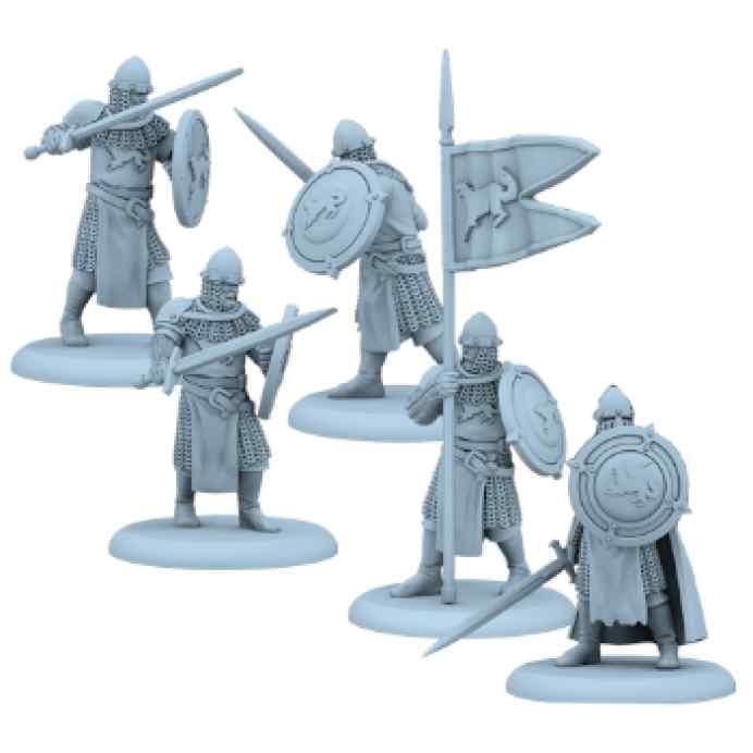 Canción de Hielo y Fuego: El Juego de Miniaturas: Espadas juramentadas Stark TABLERUM