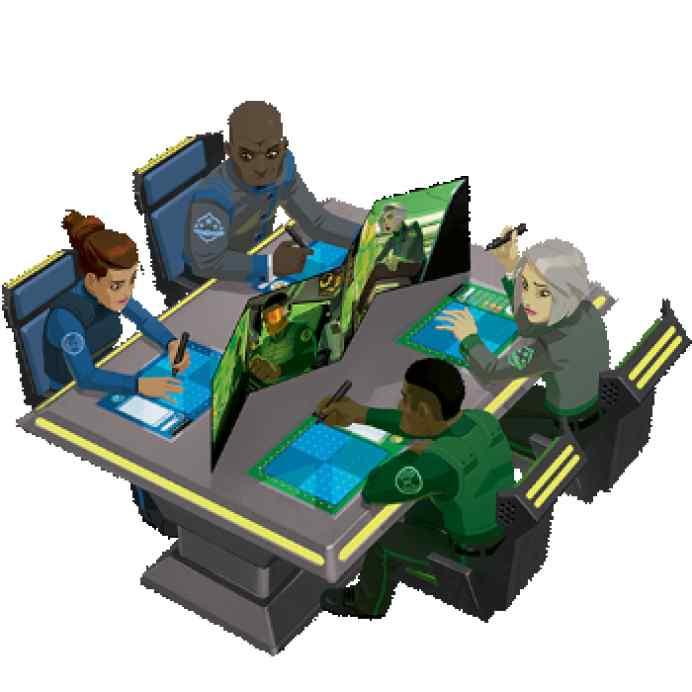Captain S.O.N.A.R.: Sonar Family TABLERUM