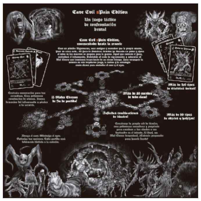 Cave Evil sPain Edition TABLERUM