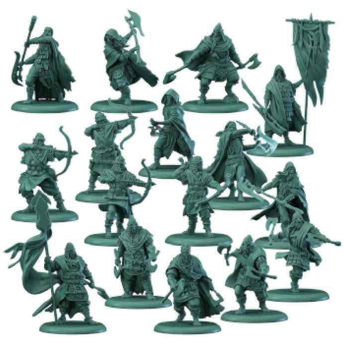 Canción de Hielo y Fuego: El Juego de Miniaturas: Greyjoy TABLERUM