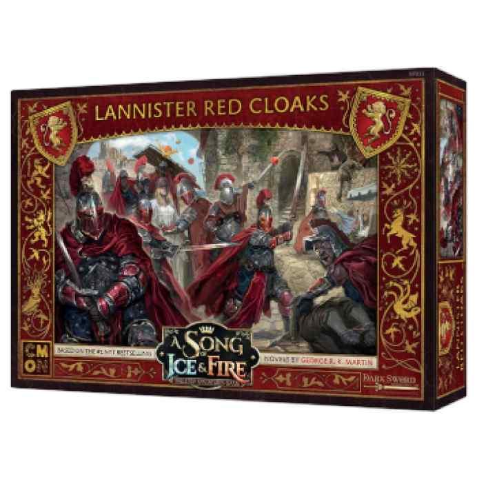 Canción de Hielo y Fuego: El Juego de Miniaturas: Capas Rojas Lannister TABLERUM