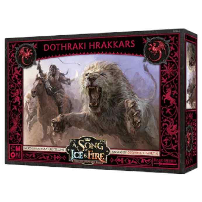 Canción de Hielo y Fuego: El Juego de Miniaturas: Dothraki Hrakkars TABLERUM