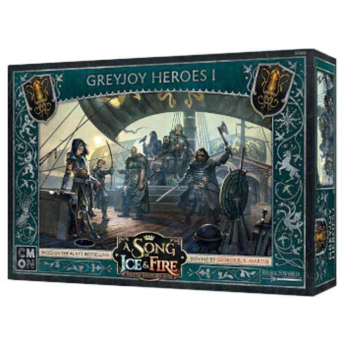 Canción de Hielo y Fuego: El Juego de Miniaturas: Héroes Greyjoy I TABLERUM