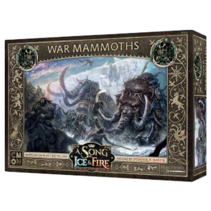 Canción de Hielo y Fuego: El Juego de Miniaturas: Mamuts de Guerra TABLERUM