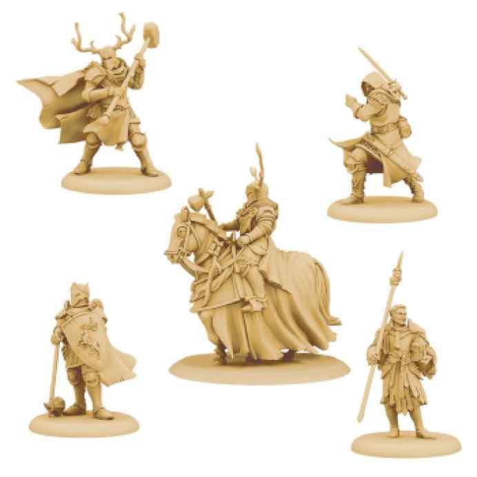 Canción de Hielo y Fuego: El Juego de Miniaturas: Vínculos Baratheon TABLERUM