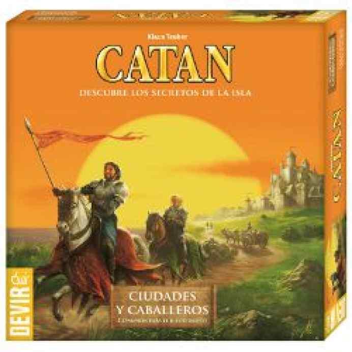 Colonos Catán: Ciudades y Caballeros