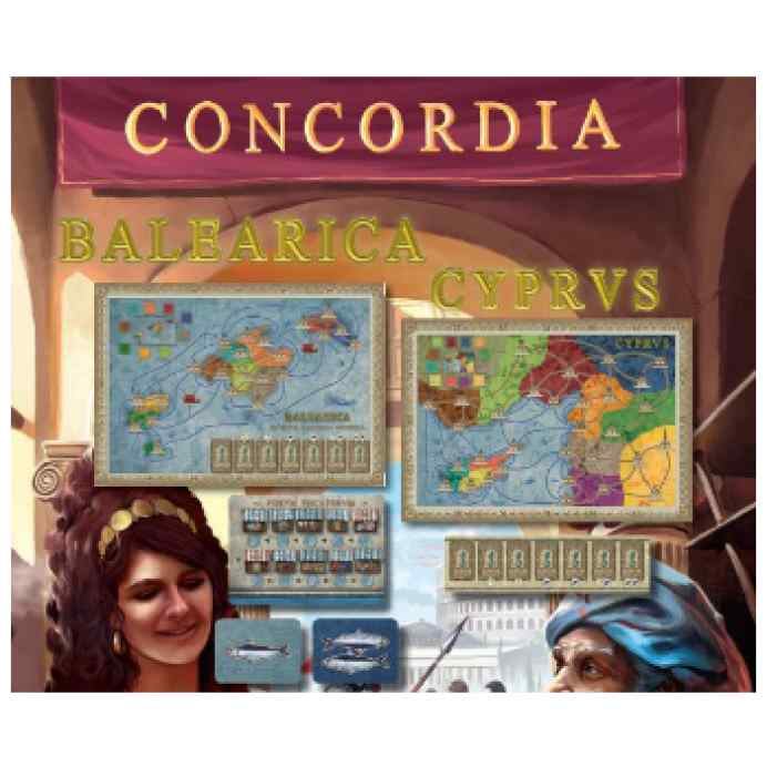 Concordia Expansion Balearica y Cyprus (Baleares y Chipre) TABLERUM