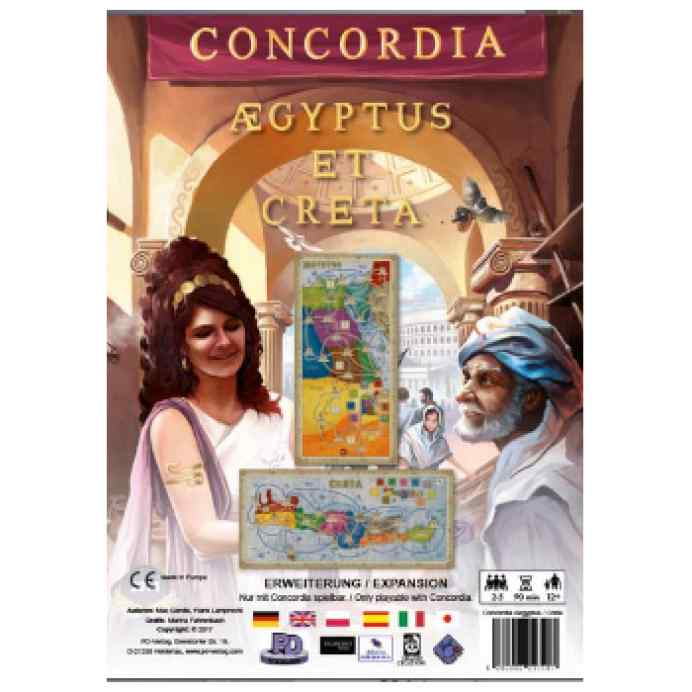 Concordia: Expansion Creta y Aegyptus TABLERUM