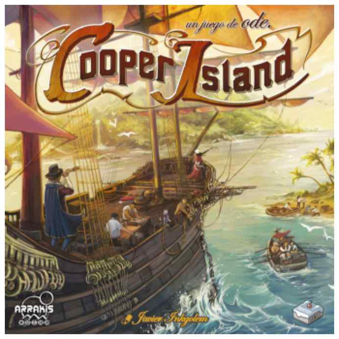 Cooper Island TABLERUM