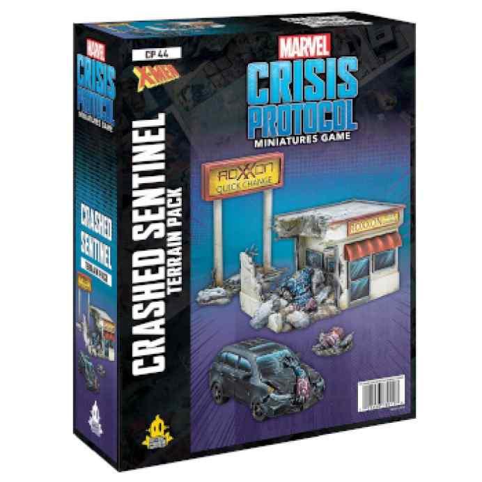 Marvel Crisis Protocol Crashed Sentinel Terrain Expansion EN TABLERUM