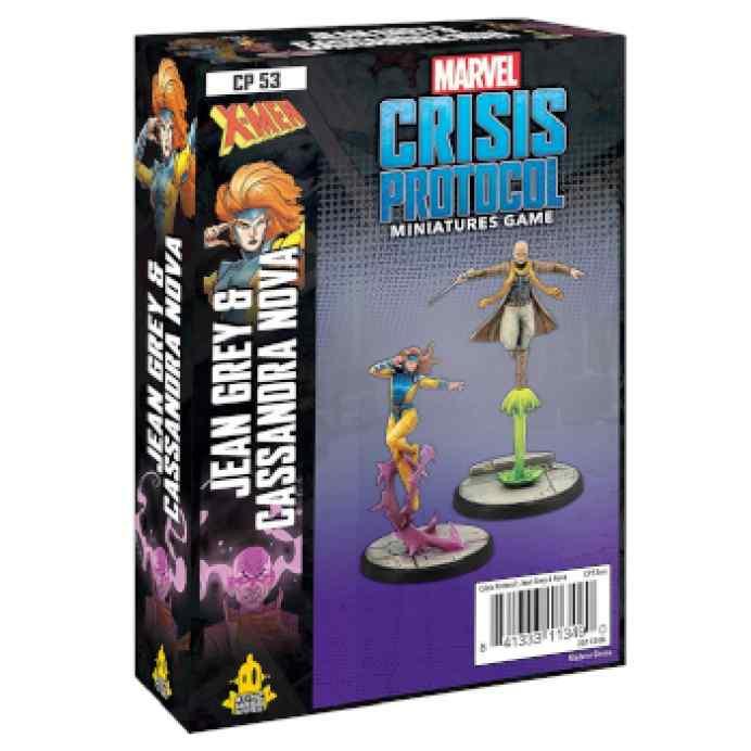 Marvel Crisis Protocol Jean Grey & Cassandra Nova EN TABLERUM