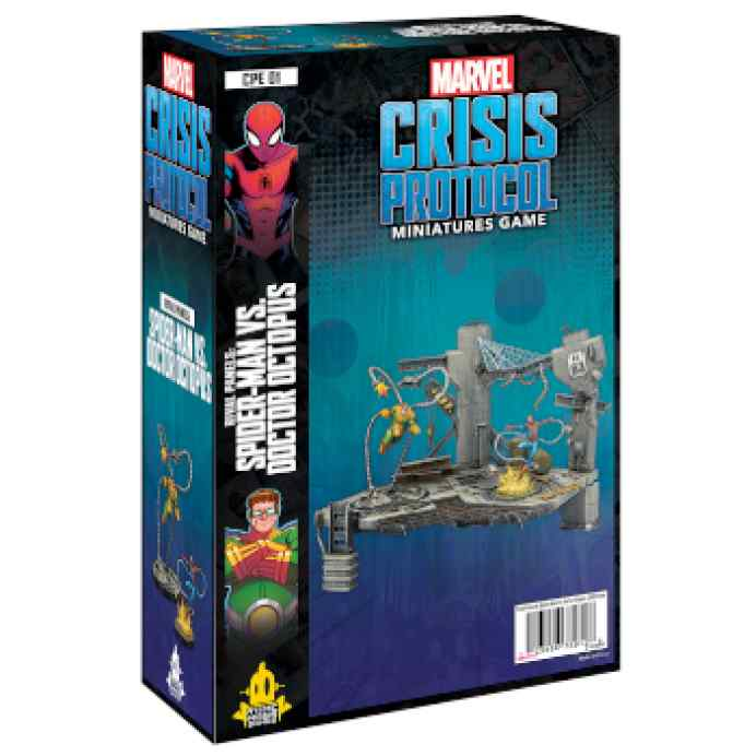 Marvel Crisis Protocol Rival Panels Spider-Man VS Doctor Octopus EN TABLERUM