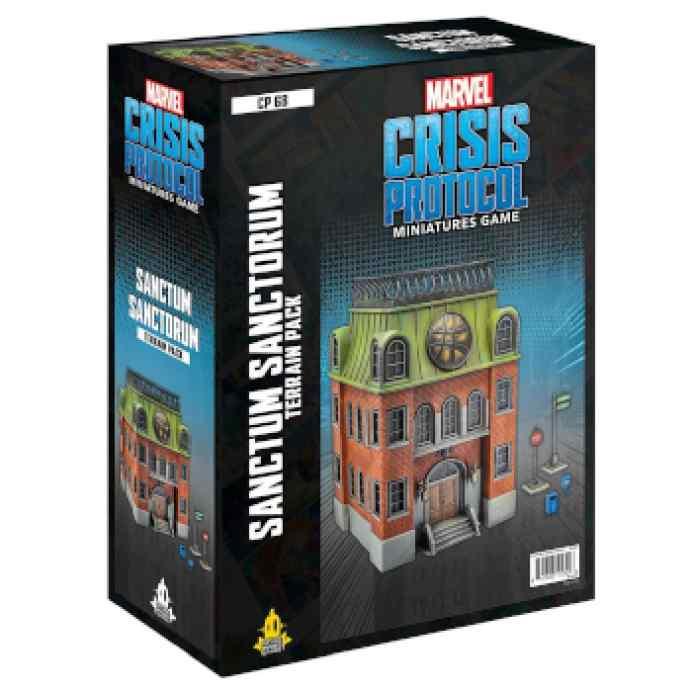 Marvel Crisis Protocol Sanctum Sanctorum Terrain EN TABLERUM