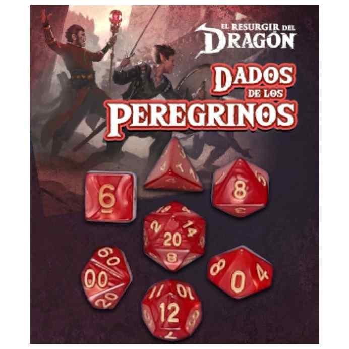 Dados de los Peregrinos: Rojo Gram TABLERUM