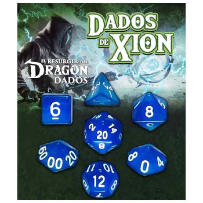 Dados de Xion: Azul Mármeron TABLERUM