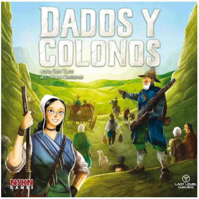 Dados y Colonos TABLERUM