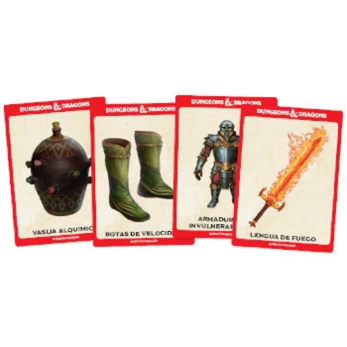 Dungeons & Dragons: Accesorios: Cartas de objetos mágicos TABLERUM