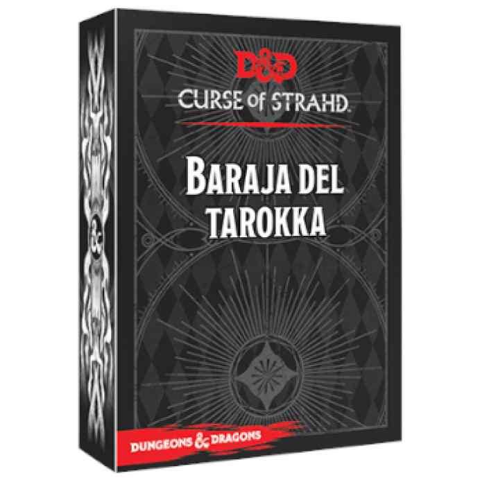 Dungeons & Dragons: Accesorios: Baraja del Tarokka TABLERUM