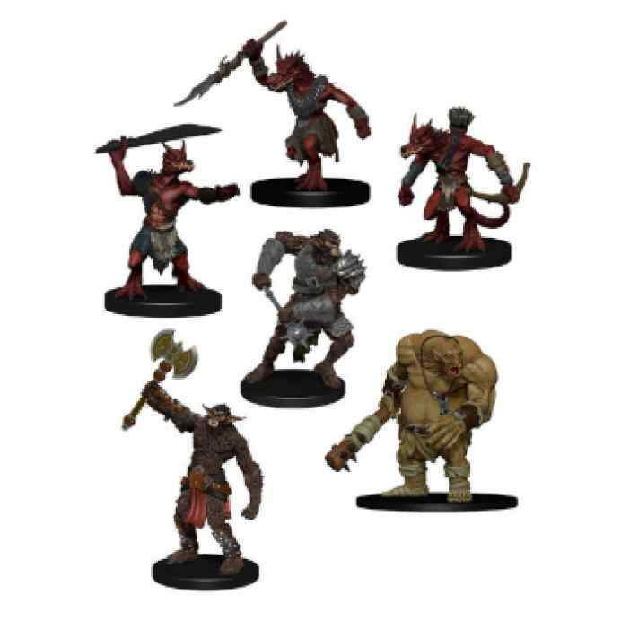 Dungeons & Dragons: Icons of the Realms: Monster Pack: Cave Defenders TABLERUM