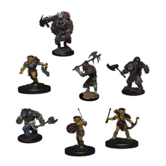 Dungeons & Dragons: Icons of the Realms: Monster Pack: Village Raiders TABLERUM