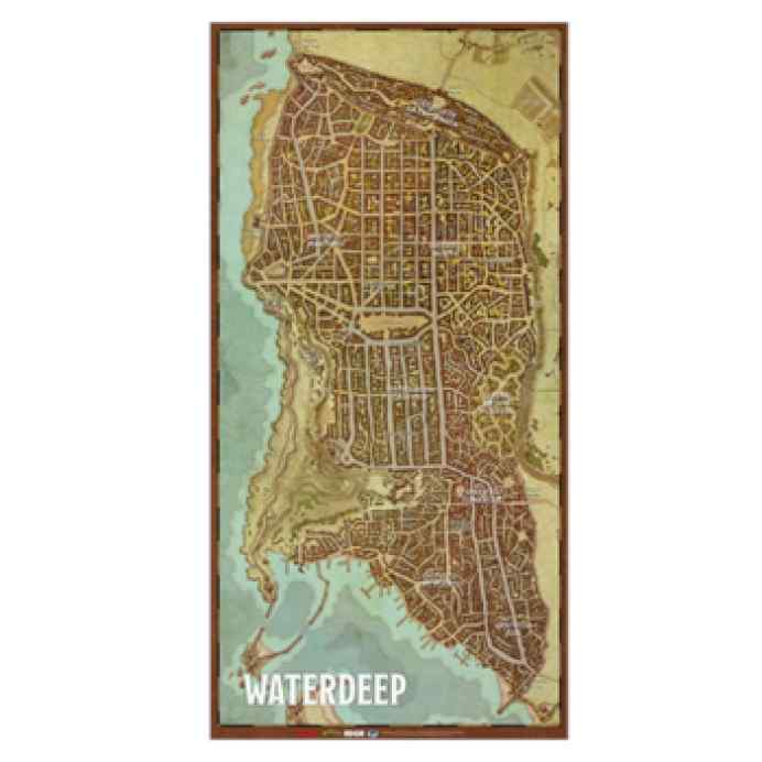 Dungeons & Dragons: Mapa de la ciudad de Waterdeep TABLERUM