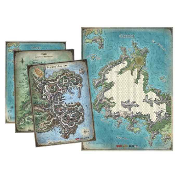 Dungeons & Dragons: Set de mapas de la Tumba de la Aniquilación TABLERUM
